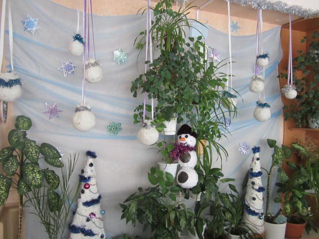 Идеи украшения кабинета на новый год